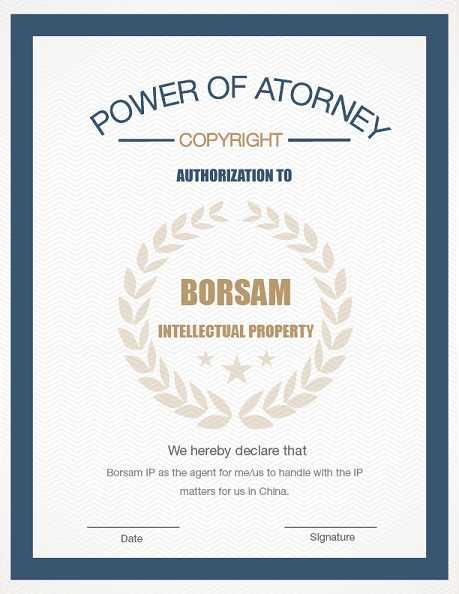 Power of Attorney_Copyright